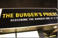Burger Priest Sign